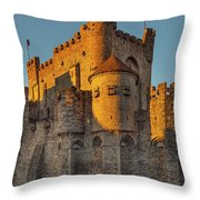 Ghent 1 Throw Pillow