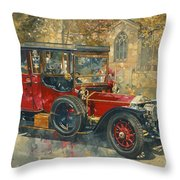 Ghost - Hawton Throw Pillow