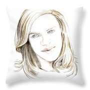 Ghost. 2014 Throw Pillow