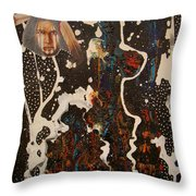 Ghost Dancer Throw Pillow