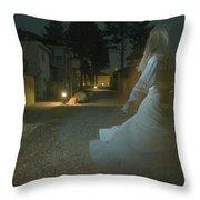 Ghost Dancer Throw Pillow by Scott Sawyer