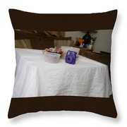 Ghost Food Throw Pillow