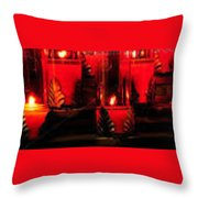Ghost Light - St Bartholomew Throw Pillow