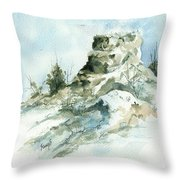 Ghost Mound - 090219 Throw Pillow