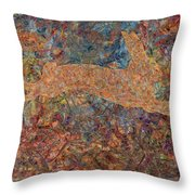 Ghost Of A Rabbit Throw Pillow