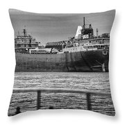 Ghost Of American Fortitude Throw Pillow