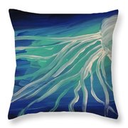 Ghost Of The Sea Throw Pillow