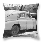 Ghost Of Victory Throw Pillow