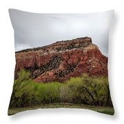 Ghost Ranch View Throw Pillow