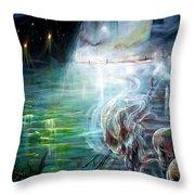 Ghost Ship 2 Throw Pillow