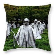 Ghost Soldiers Throw Pillow