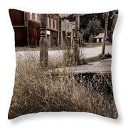 Ghost Town 2 Throw Pillow