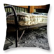 Ghost Town Accommodations  Throw Pillow