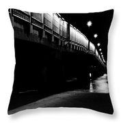 Ghostlights Throw Pillow