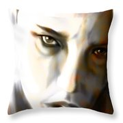 Ghostly Glance Throw Pillow