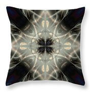 Ghostly Memories Throw Pillow