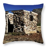 Ghostly Remains Throw Pillow