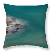 Ghostly Rocks Throw Pillow