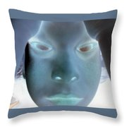 Ghostly You Throw Pillow