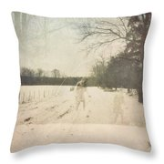 Ghosts And Shadows I Throw Pillow