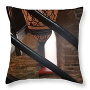 Ghosts In The Tower  Throw Pillow