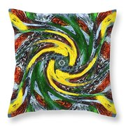 Ghosts Of Big Bang Throw Pillow