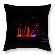 Ghosts Of Gasparilla Throw Pillow