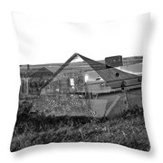 Ghosts On The Prairie Throw Pillow