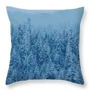 Giant Forest Throw Pillow