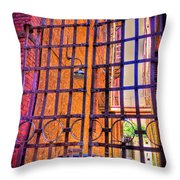 Giant Gate Throw Pillow