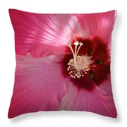 Giant Hibiscus Throw Pillow