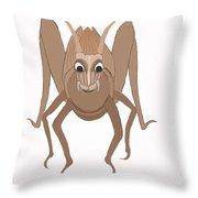 Giant Hopper Throw Pillow