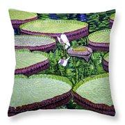 Giant Lily Throw Pillow