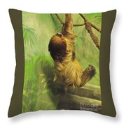 Giant Sloth     June          Indiana Throw Pillow