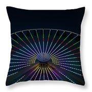 Giant Wheel Ferris Wheel Throw Pillow
