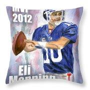 Giants Win Throw Pillow