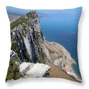 Gibraltar Throw Pillow