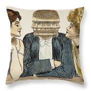 Gibson Girls, 1903 Throw Pillow