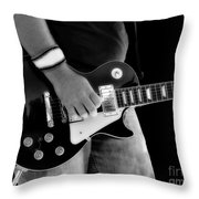 Gibson Les Paul Guitar  Throw Pillow