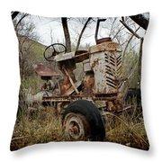 Gibson Tractor Throw Pillow