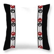 Giddy Rbs Striped Throw Pillow