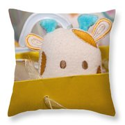 Gift Bag Peek-a-boo Throw Pillow