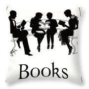 Gift Books 1920 Throw Pillow