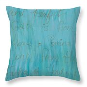 Gift From Above Throw Pillow