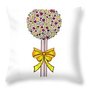 Gift Of Happiness Throw Pillow