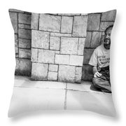 Gifted Grateful And Guaranteed Throw Pillow