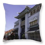 Gifts In Chinatown Throw Pillow