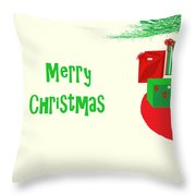 Gifts Under The Tree Throw Pillow