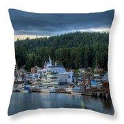 Gig Harbor 01 Throw Pillow