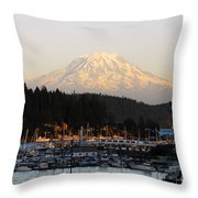 Gig Harbor Throw Pillow